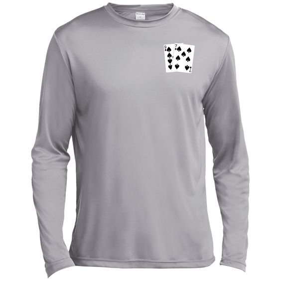 Long Sleeve Moisture Absorbing T-Shirt (9s 7s on front)