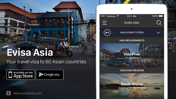 Evisa Asia launches travel visa app in Malaysia covering over 60 Asian countries