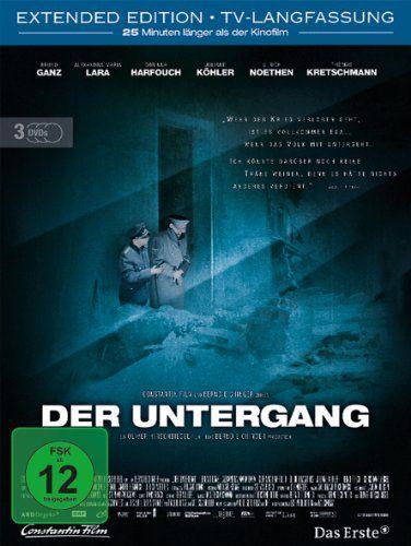 Der Untergang * IMDb Rating: 8,3 (156.003) * 2004 Germany,Austria,Italy * Darsteller: Bruno Ganz, Alexandra Maria Lara, Corinna Harfouch,