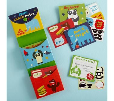 Kids Notecards: Kids Notecards and Sticker Set