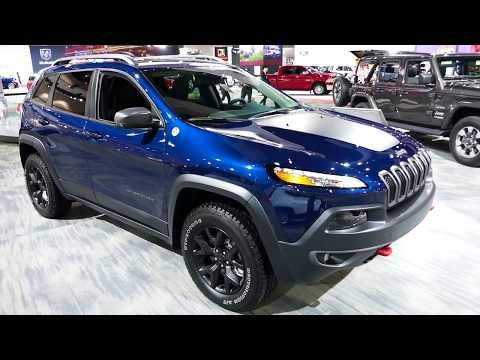 40 New 2018 Jeep Cherokee Trailhawk 4x4 Suv Exterior Tour