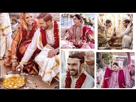 Happiest Moments Of Deepika Ranveer S Full Wedding Ceremony Haldi Mehendi Ring Fera Youtube Full Wedding Wedding Ceremony Deepika Ranveer