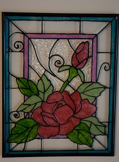 Glass Painting Designs And Patterns Beautiful The O