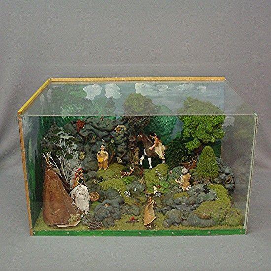 I love dioramas. I think I want to make some. :)