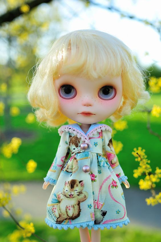 A Purrrfect Day Blythe Jacket by WingsinFlight on Etsy