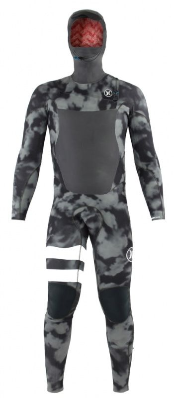 5/3mm Men's Hurley FUSION Hooded Fullsuit | Wetsuit Wearhouse