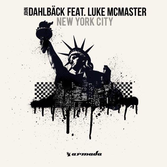 John Dahlbäck, Luke McMaster – New York City (single cover art)