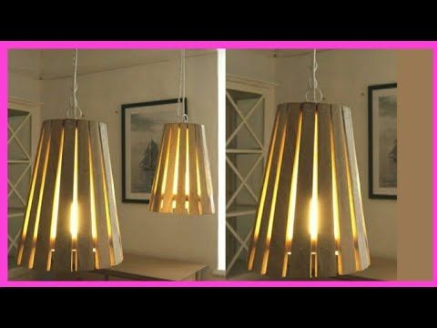 Diy Cardboard Lamp Cardboard Lamp Shade Making Hanging Lamp Paper