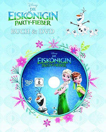 Disney Die Eiskönigin - Party-Fieber: Buch & DVD von Walt…