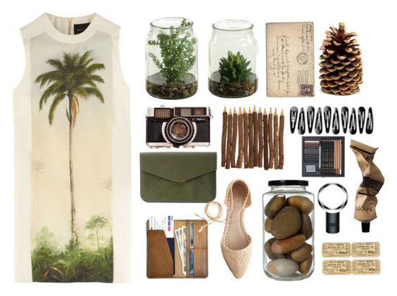 """""""Safari Travels"""" by immyclark ❤ liked on Polyvore"""