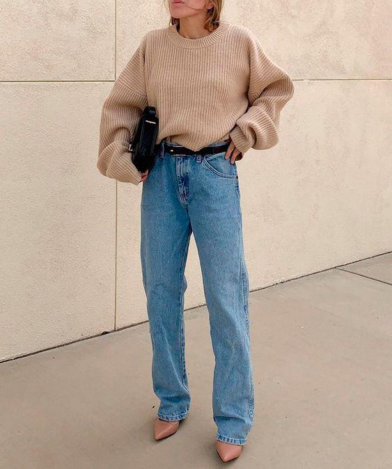 Sandra H. Sauceda - jeans - grandpa-jeans - verão - street-style
