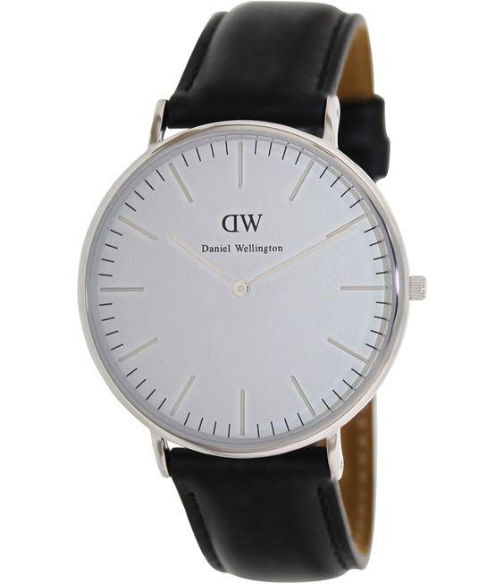 Daniel Wellington Male Sheffield Watch  0206DW Silver Analog Sale price. $148.95