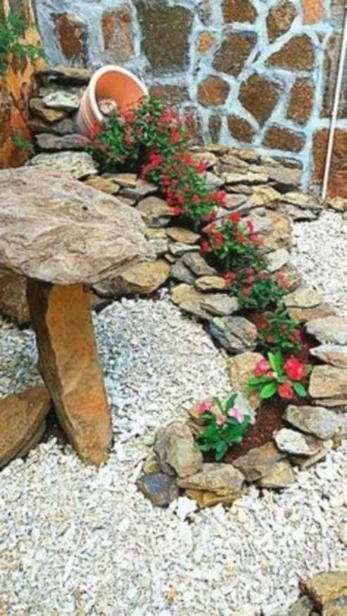 12 Splendid Simple Rock Garden Designs Photos Garden Stone Gardenflowery Com Jardineria En Macetas Decoraciones De Jardin Ideas De Jardineria