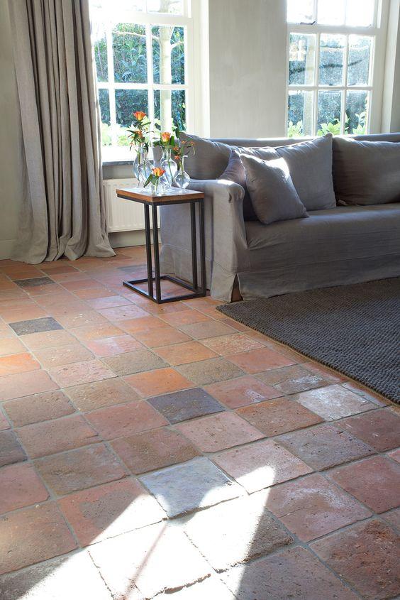 Die besten 25+ Terrakottafliese Ideen auf Pinterest Terrakotta - bodenfliesen wohnzimmer modern
