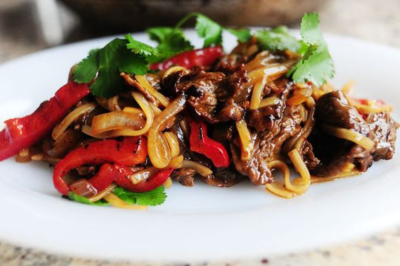 Beef with Peppers | Recipe | The pioneer woman cooks, Red ...