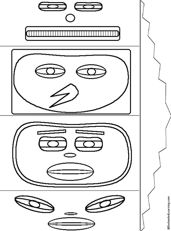 totem pole design template - totem pole craft for group counseling ideas pinterest