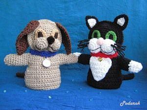 Игрушки-перчатки «Кот и Пёс». Обсуждение на LiveInternet - Российский Сервис Онлайн-Дневников