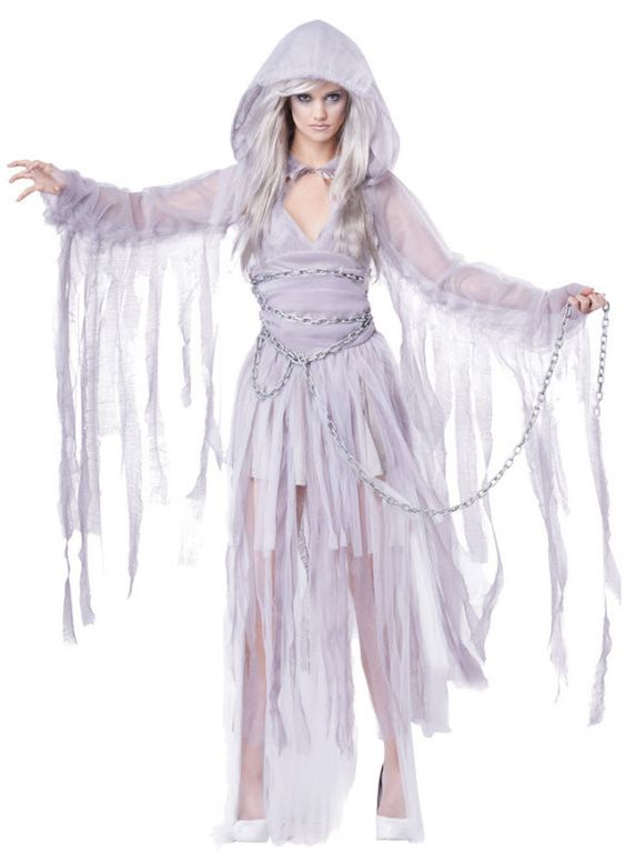 Women's Haunting Ghost Costume                                                                                                                                                                                 More