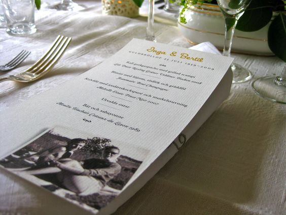 1 Year Wedding Anniversary Dinner Ideas : Wedding anniversary, 50th wedding anniversary and Anniversaries on ...