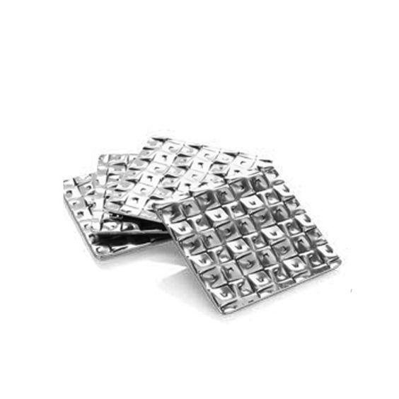 Cubist 4-PC Square Coaster Set