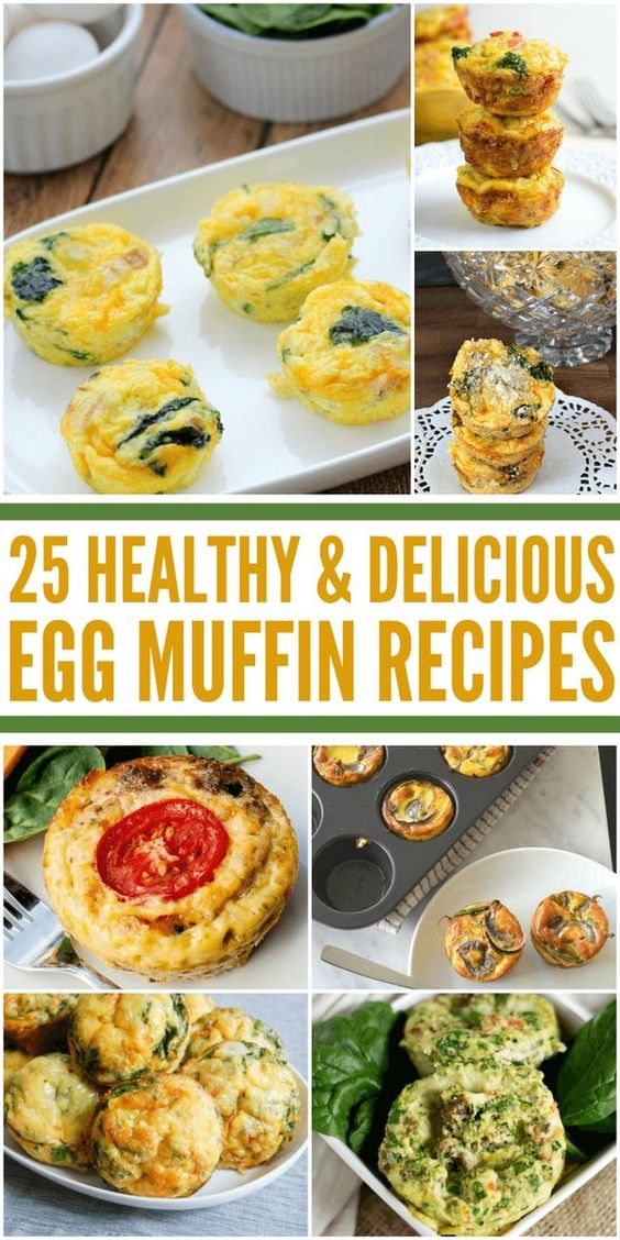 Breakfast, Muffins and Egg muffins on Pinterest