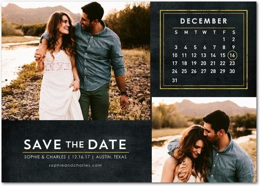 Ornate Calendar Signature White Photo Save the Date Cards in – Save the Dates Wedding Paper Divas