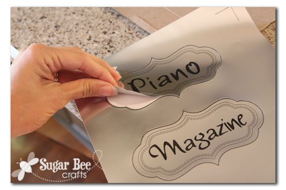Sugar Bee Crafts: sewing, recipes, crafts, photo tips, and more!: Magazine Rack Board - and Silhouette DEAL