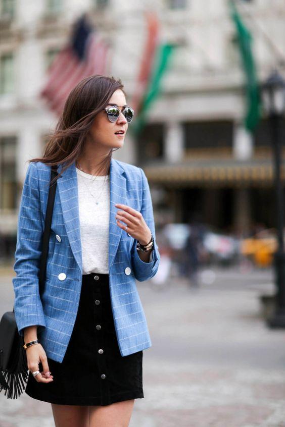 Pasa de las camisetas de rayas, aquí tienes tres ideas diferentes para lucir este estampado (via Bloglovin.com )