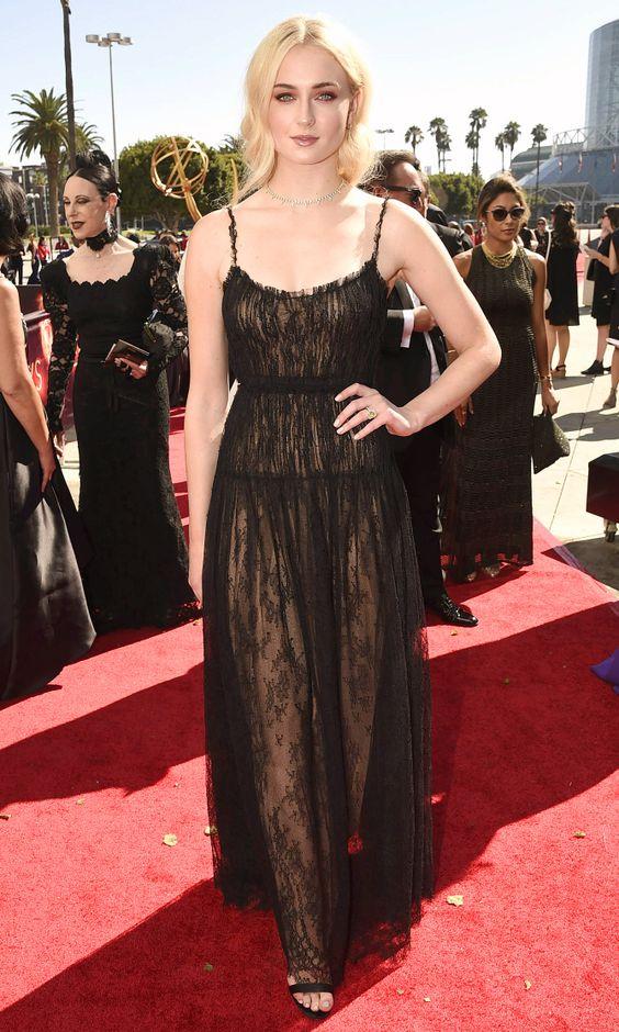 Emmys 2016: Sophie Turner in Valentino