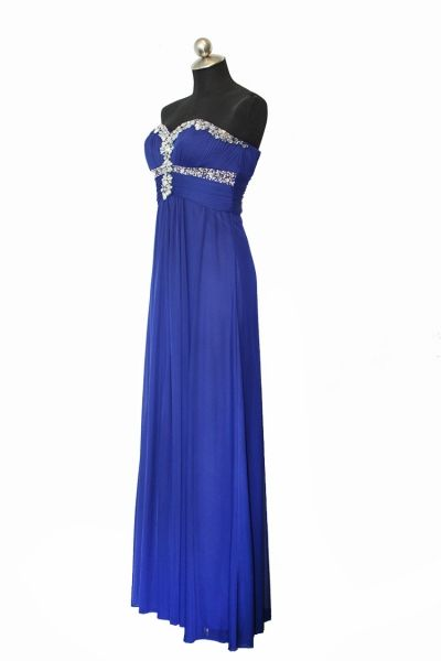 So this is my Grad dress except in red.