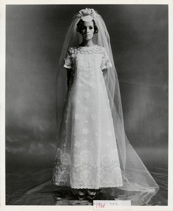 Wedding american history and museums on pinterest for Priscilla of boston wedding dresses