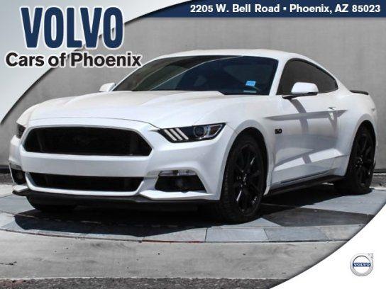 Coupe 2017 Ford Mustang Gt Premium With 2 Door In Phoenix Az