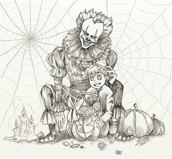Happy Halloween Coloring Pages For Adults Halloween Coloring Pages Halloween Coloring Scary Coloring Pages