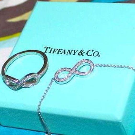 OMG OMG OMG! I am so getting these...Tiffany infinity ring