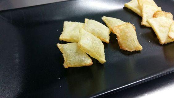 Patatas sufladas