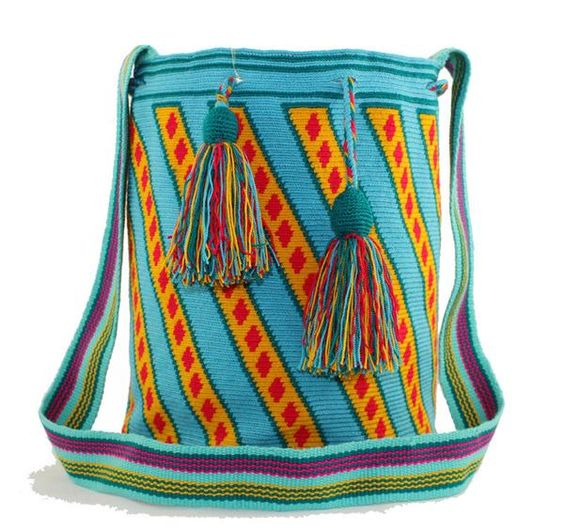 Why fit in when you were born to stand out! One of our beautifully colored, handmade bags can help you do just that.     Single thread…
