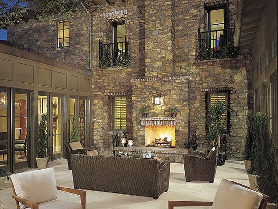 Eldorado stone stones and photos on pinterest for Eldorado outdoor fireplace