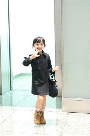 芦田愛菜のコート