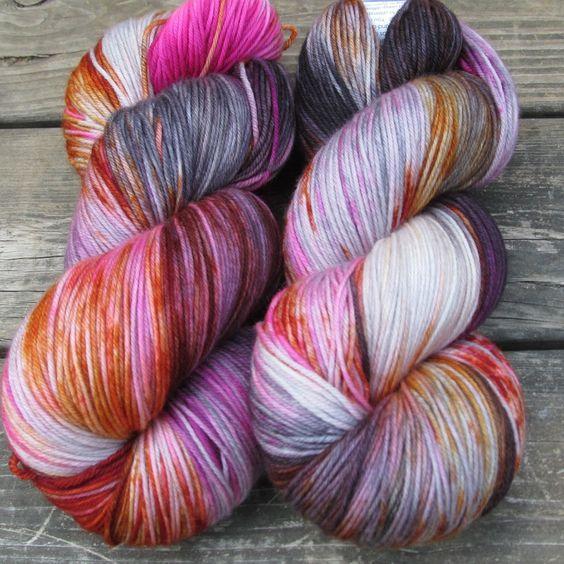 Deep Sea Jellyfish - Yowza - Babette | Miss Babs Hand-Dyed Yarns & Fibers, Inc.