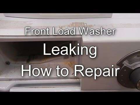 Lg Washer Repair Diagnostic Leaking Water From Front Bottom Seals Wm2101hw Youtube Front Load Washer Front Load Lg Washer Repair