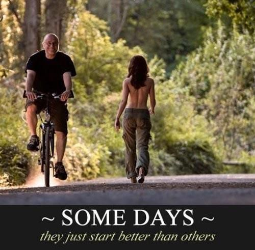 Some days are just better than others Meme | Slapcaption.com