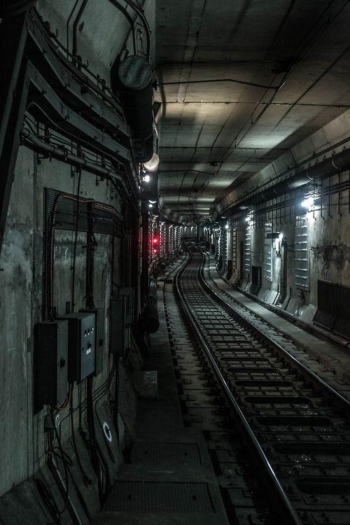 "My novel ""Subway Hitchhikers"" rolls along tracks like this."