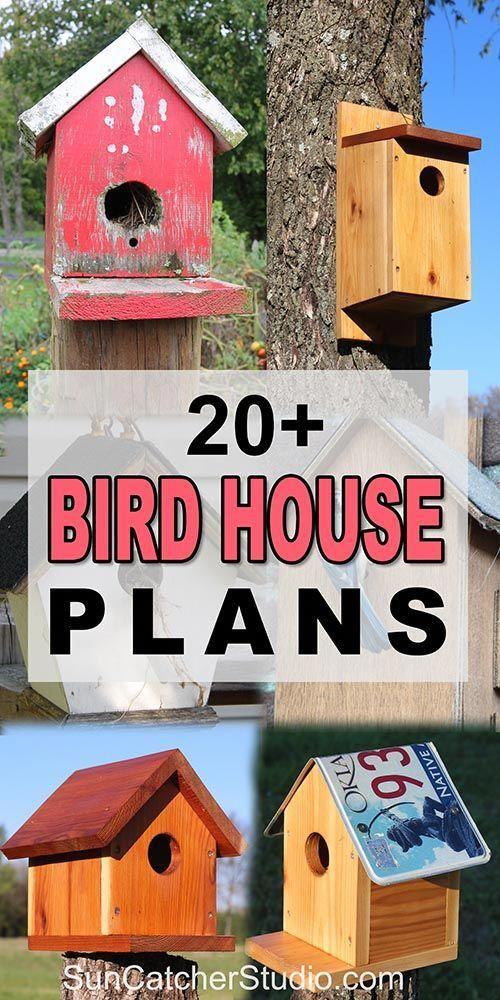 Bird House Plans 25 Free Beginner Birdhouse Designs Bird House Plans Free Bird House Plans Bird House Kits