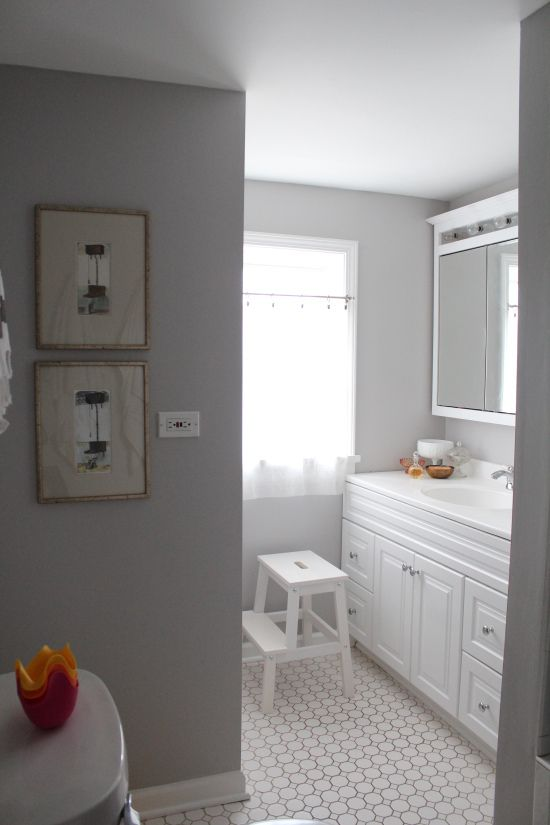 Dolphin Fin by Behr paint  Looks great with freshly painted white trim. Dolphin Fin by Behr paint  Looks great with freshly painted white