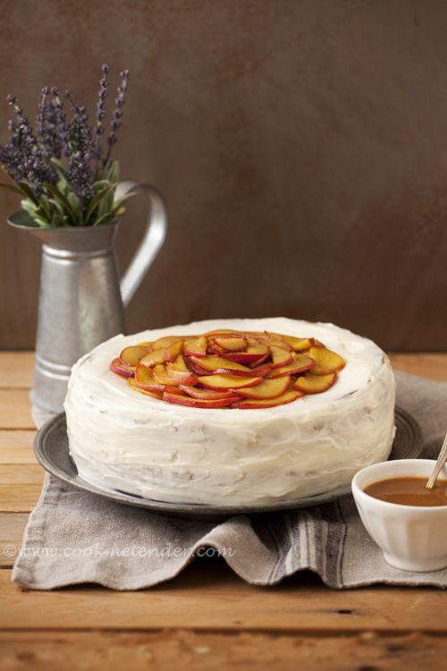 Cook me tender: 2º Aniversario de Cook me tender, SORTEO y celebrándolo con un Pastel de melocotón