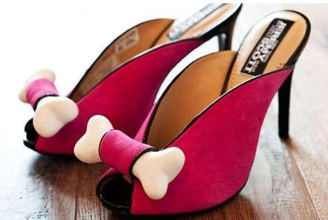 Jeremy Scott Flintstone inspired heels