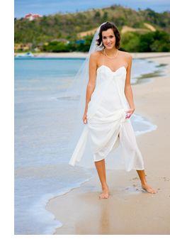 Casual Beach Wedding Dresses - Beach Casual Wedding Dress ...