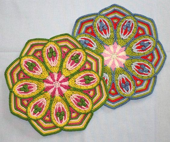 Mandala de ganchillo