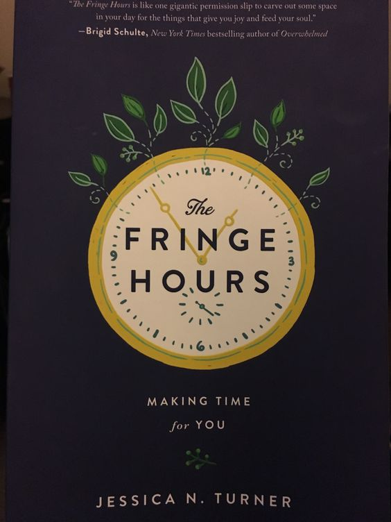 I picked up The Fringe Hours by Jessica Turner at my local Family Christian Bookstore. This book is literally my life as a mom, wife, aspiring business woman, and friend. It is truly blessing me one page at a time.