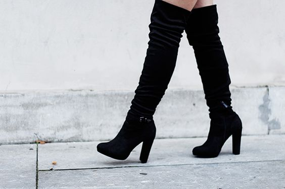 Outfit | Over Knee Boots